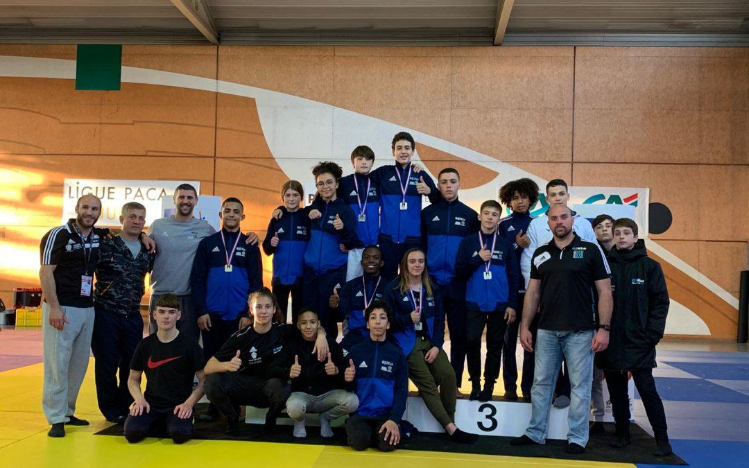 1/2 Finales Championnats de France cadets (Marseille).