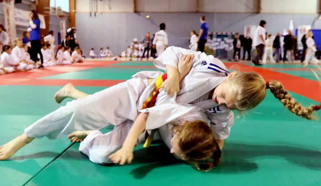 Les bienfaits du judo pour nos enfants!!!