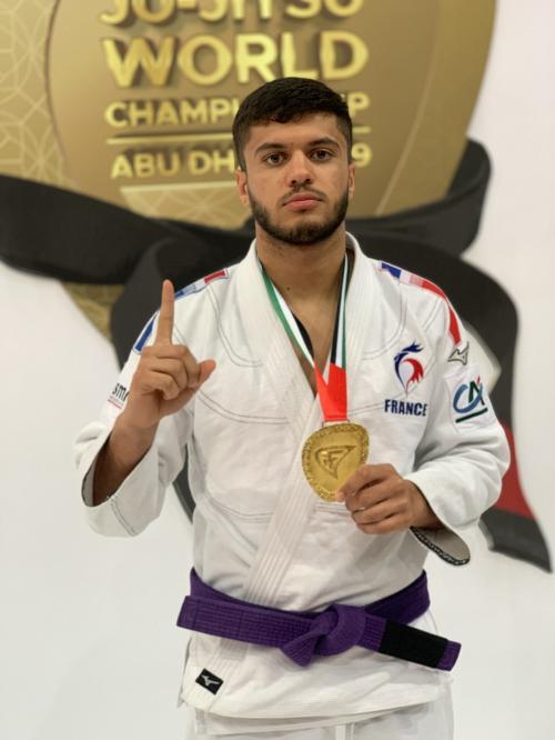 Kalim Mastouri sélectionné aux championnats d'Europe.
