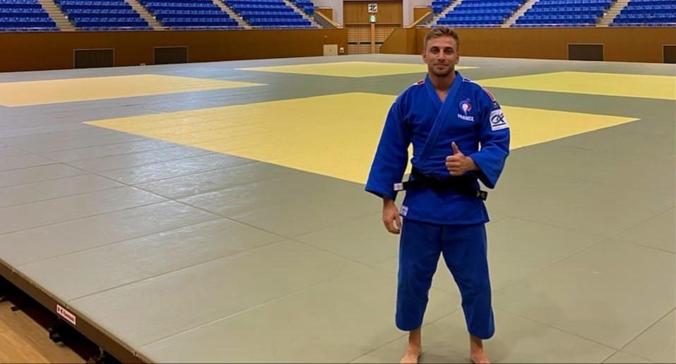 Jeux Olympiques, Enzo Gibelli en sparring partner pour le groupe France.