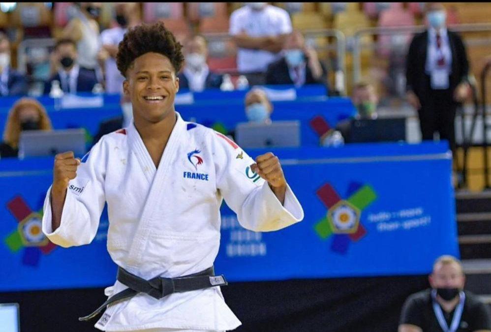 Maxime Gobert champion d'Europe dans la catégorie des – 66 kg.